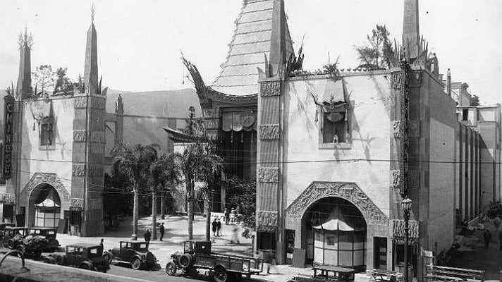 Grauman's Chinese Theatre in 1927 | Photo courtesy of TCL Chinese Theatre, Facebook
