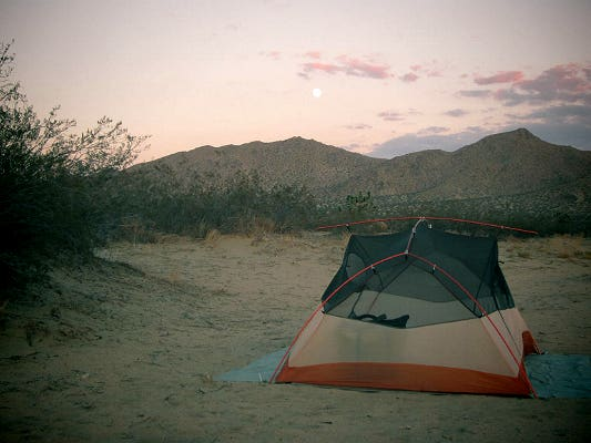 Main image for guide titled The Guide to Camping Sites Near Los Angeles