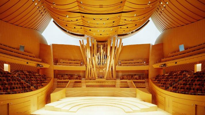 Walt Disney Concert Hall - Stage