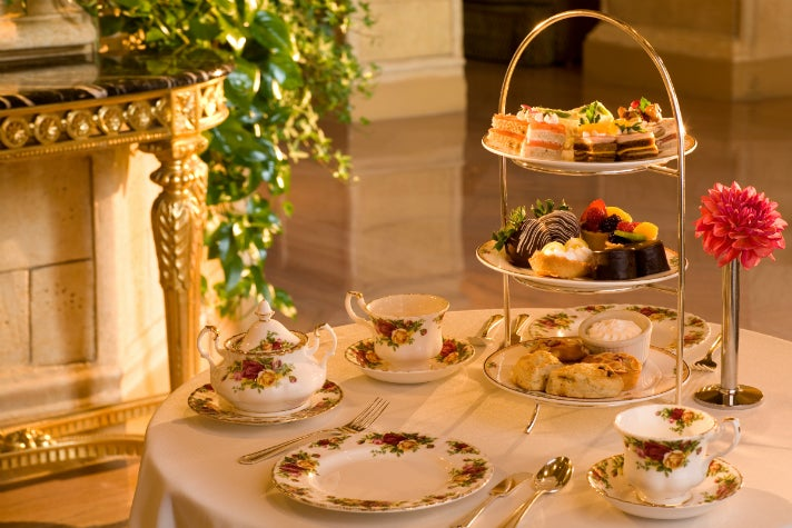 High Tea Biltmore Hotel Los Angeles