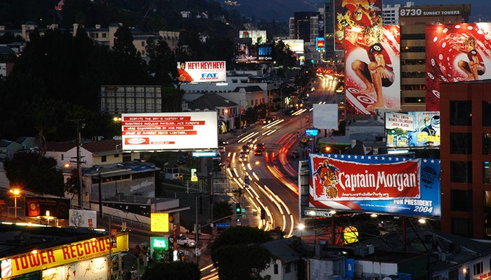 Famous Bars Restaurants On The Sunset Strip Los Angeles