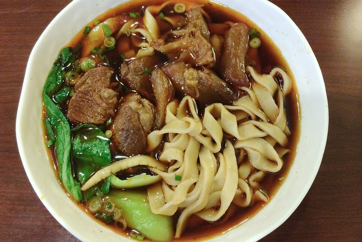 ... arcadia a j is known for their sizeable noodle soups the beef noodle