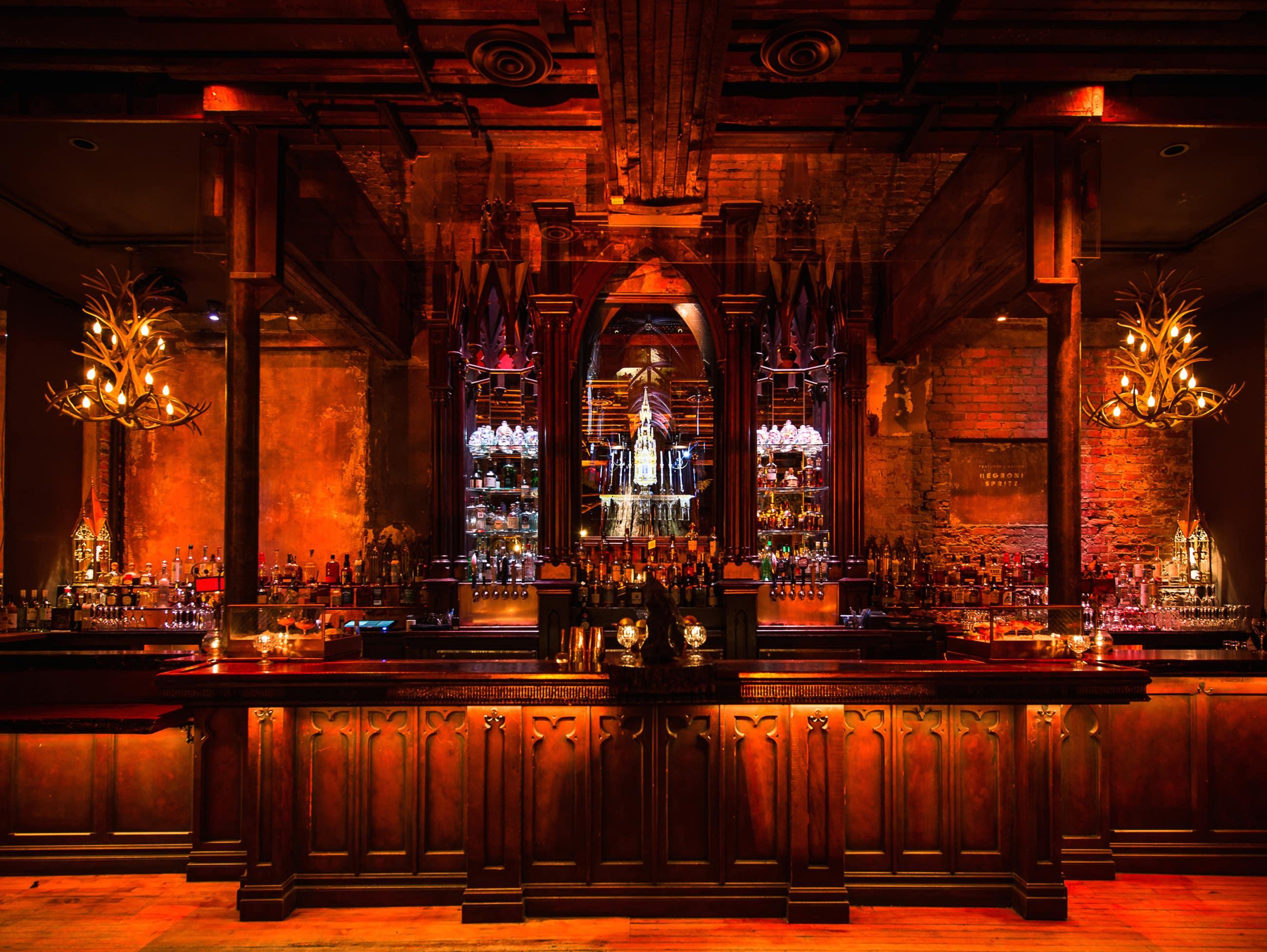 Gothic Bar at Clifton's Republic