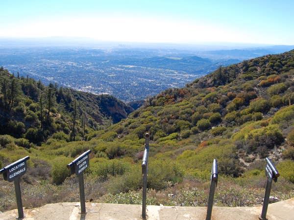 Echo Mountain via the Sam Merrill Trail