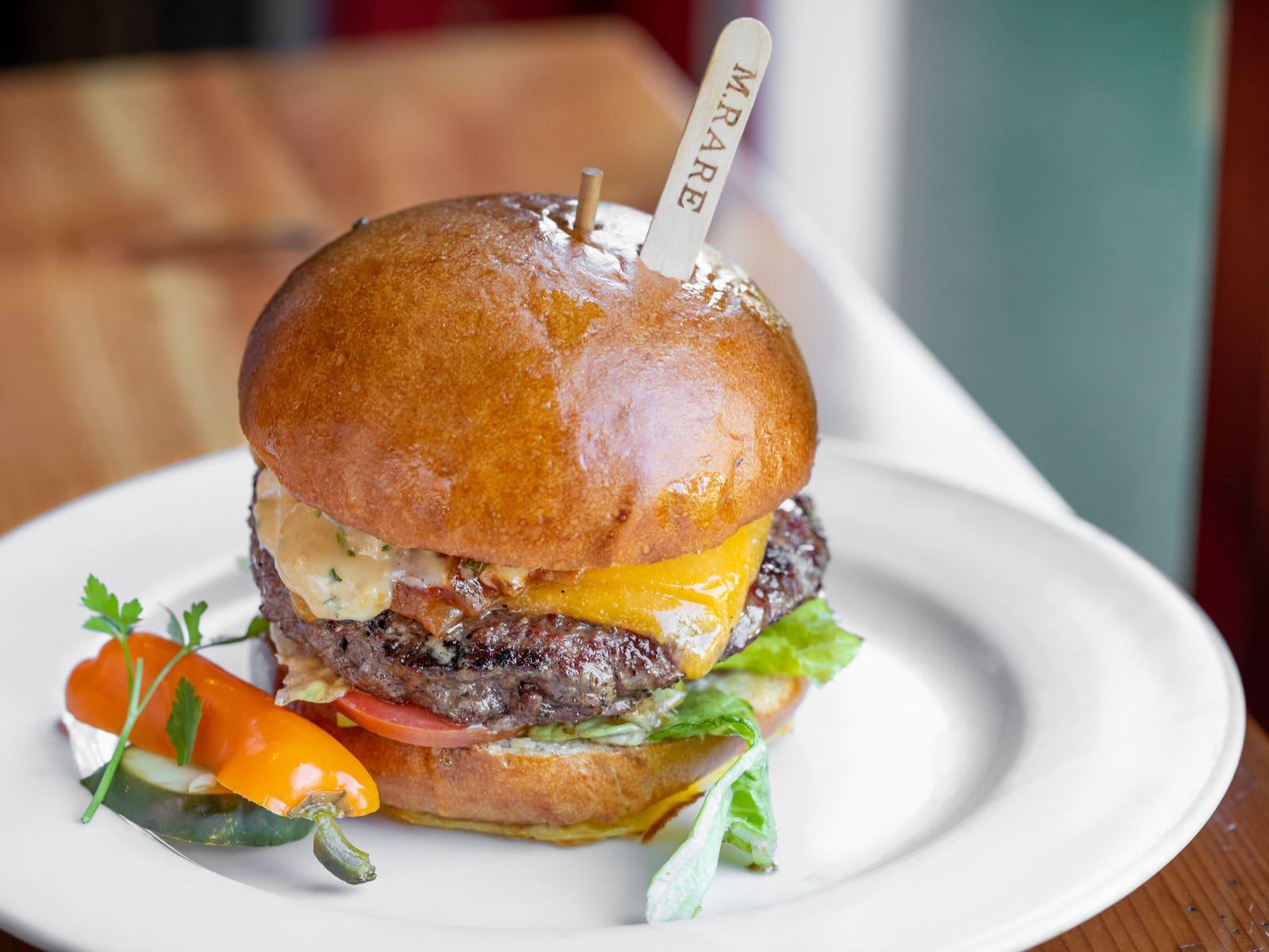 Oak-Charred Simmzy's Burger
