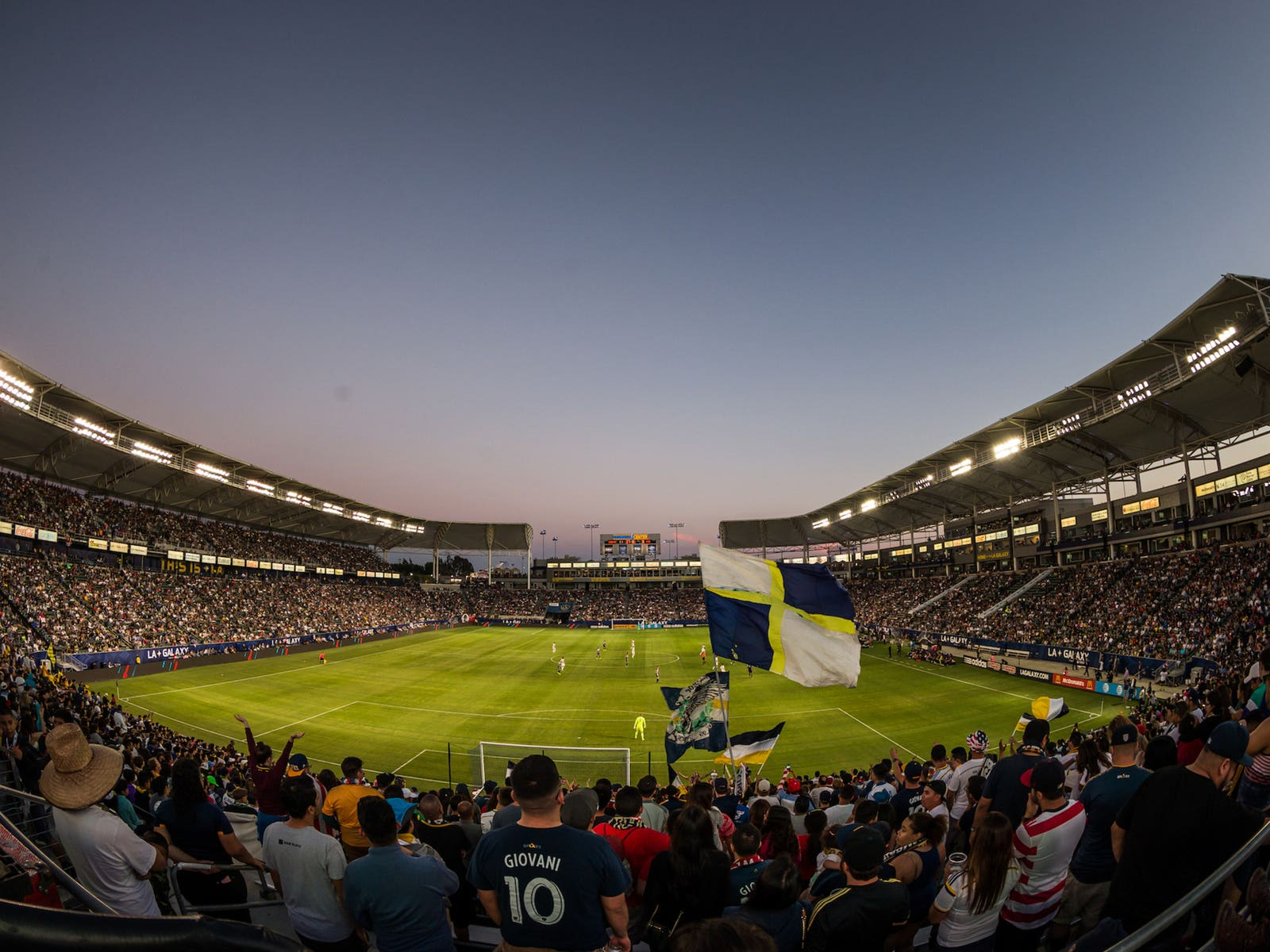 StubHub Center view