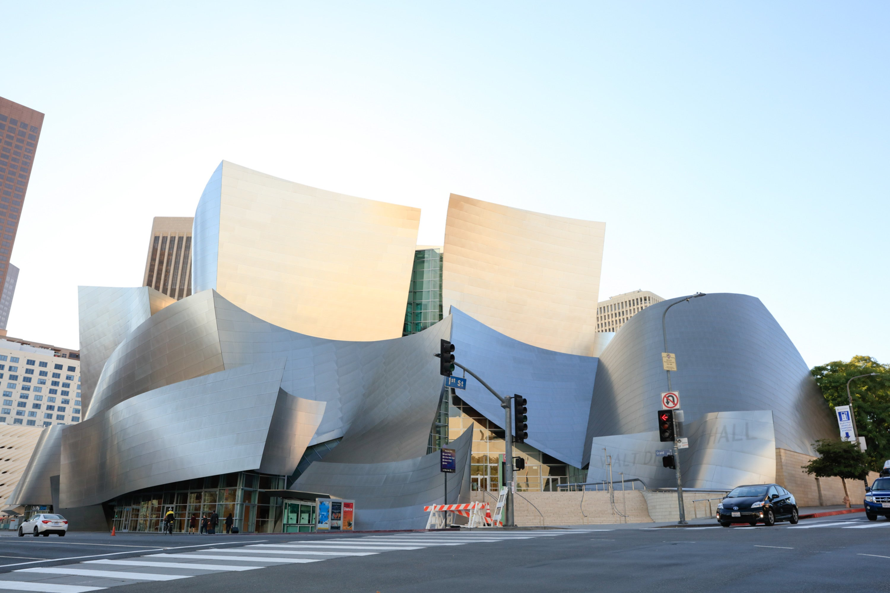 Walt Disney Concert Hall At The Music Center Discover Los Angeles