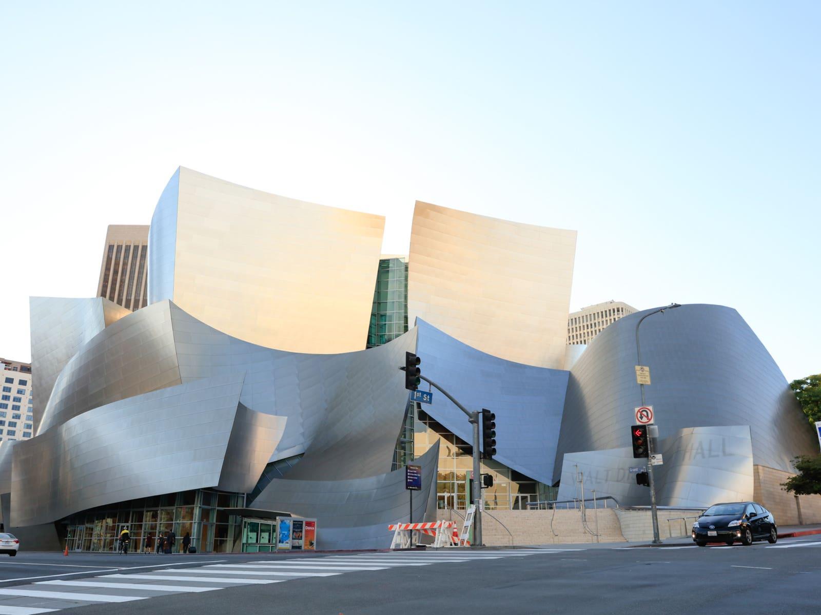 Walt Disney Concert Hall at the Music Center