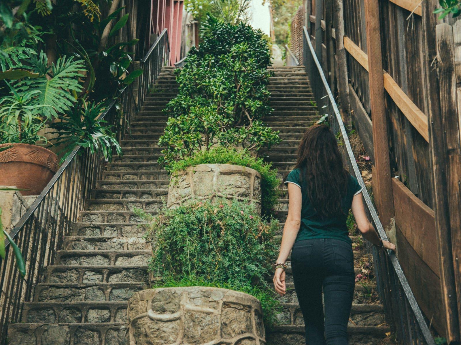 Saroyan Stairs in Hollywood