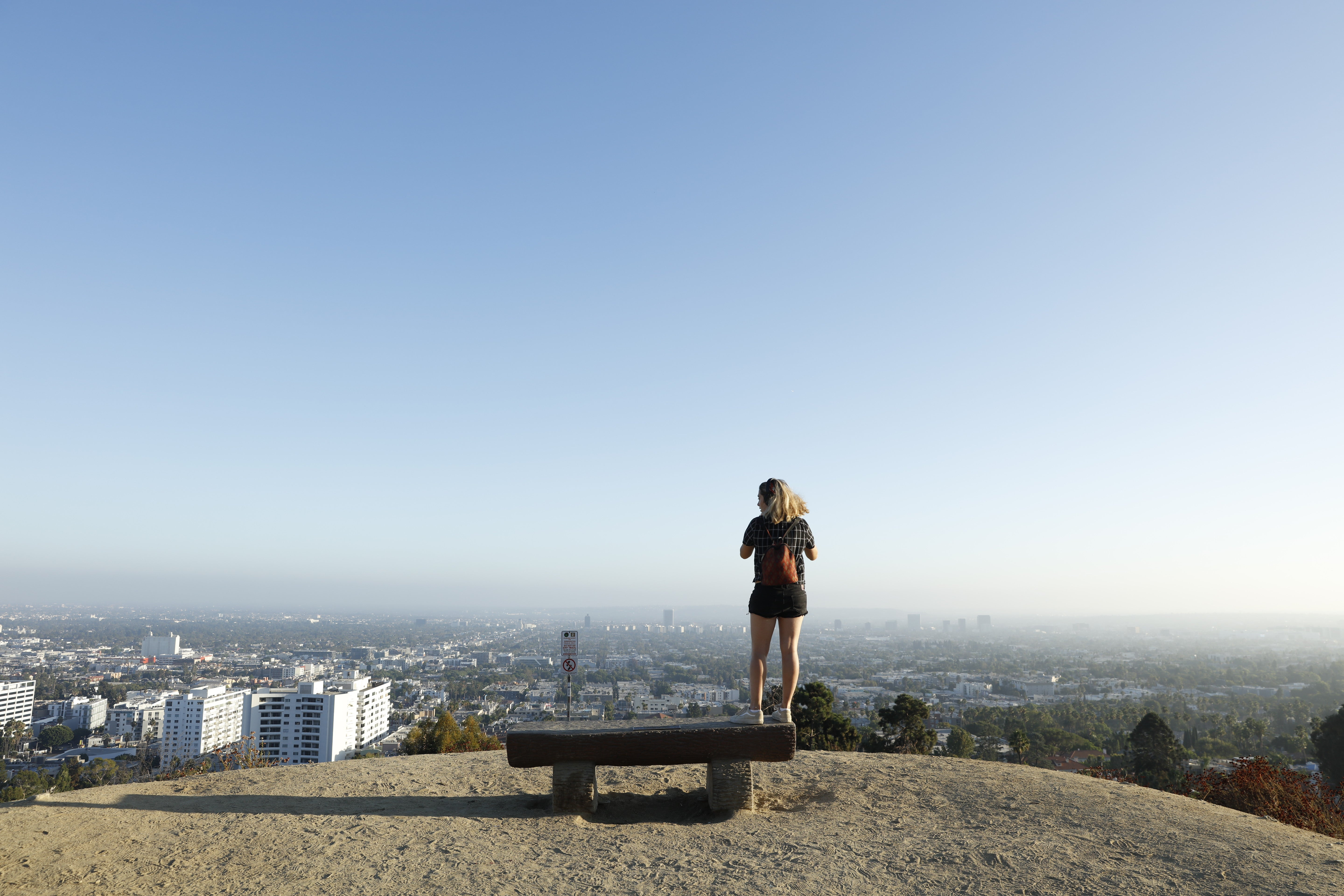 Runyon Canyon Woman