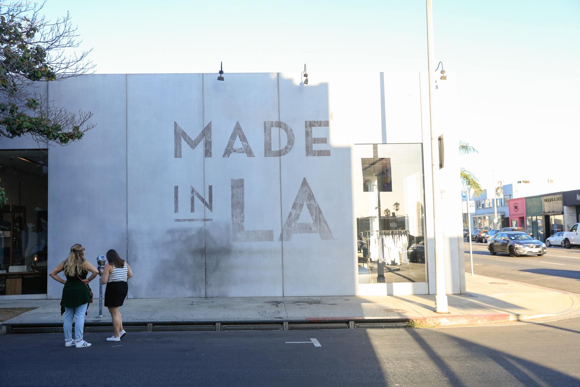 """Made in LA""  Cisco Home Furnishing on Melrose      Photo: Yuri Hasegawa"