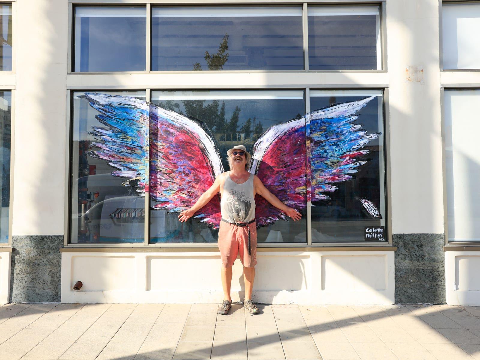 Colette Miller Angel Wings Pasadena