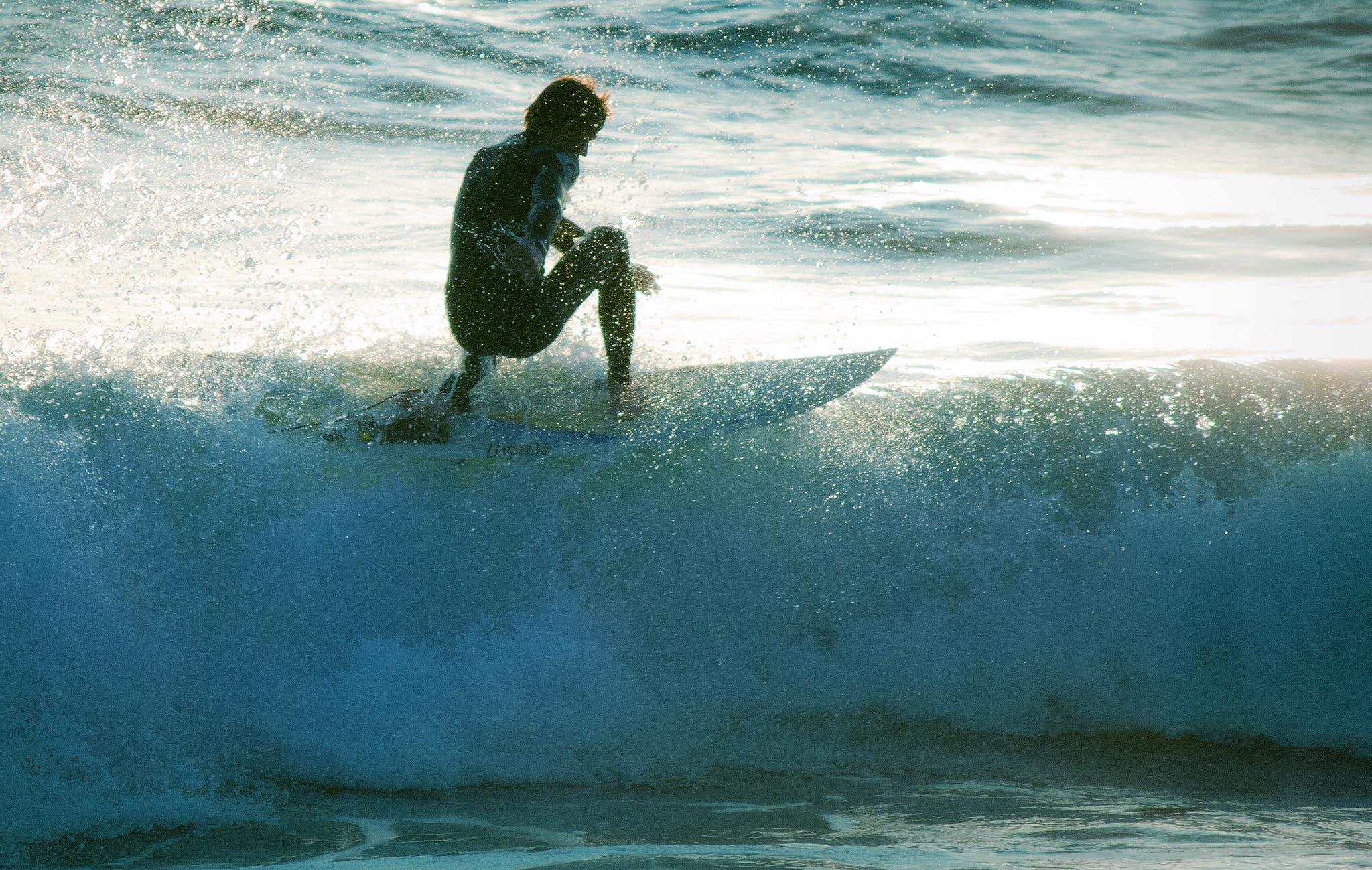 El Porto Manhattan Beach Surfer