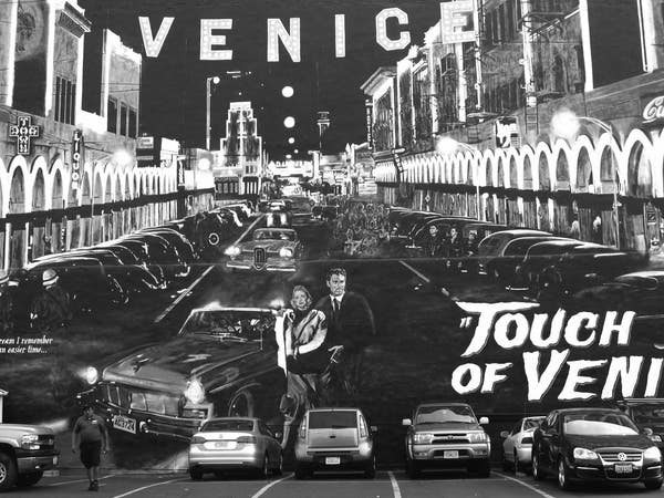 """Touch of Venice"" mural by Jonas Never"