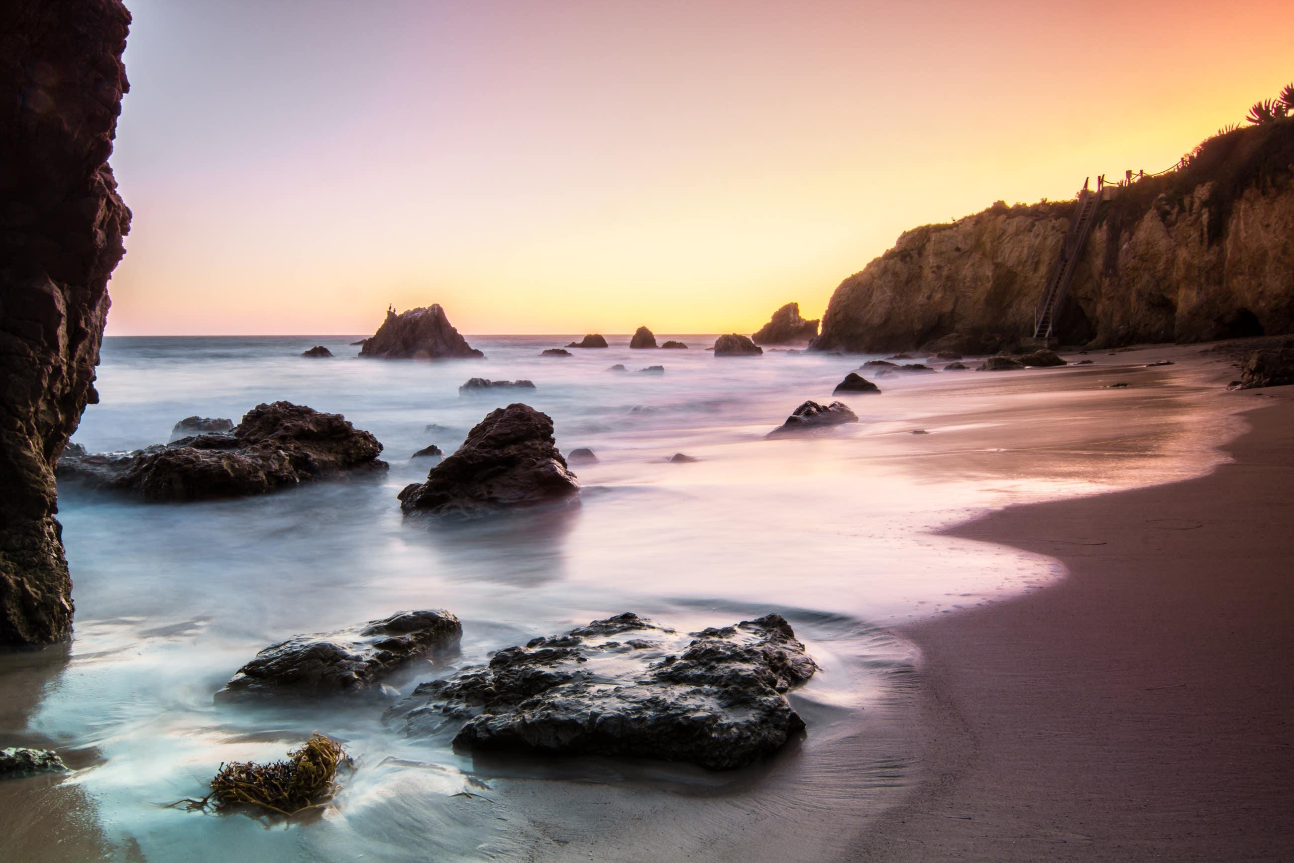 Sunset at El Matador State Beach