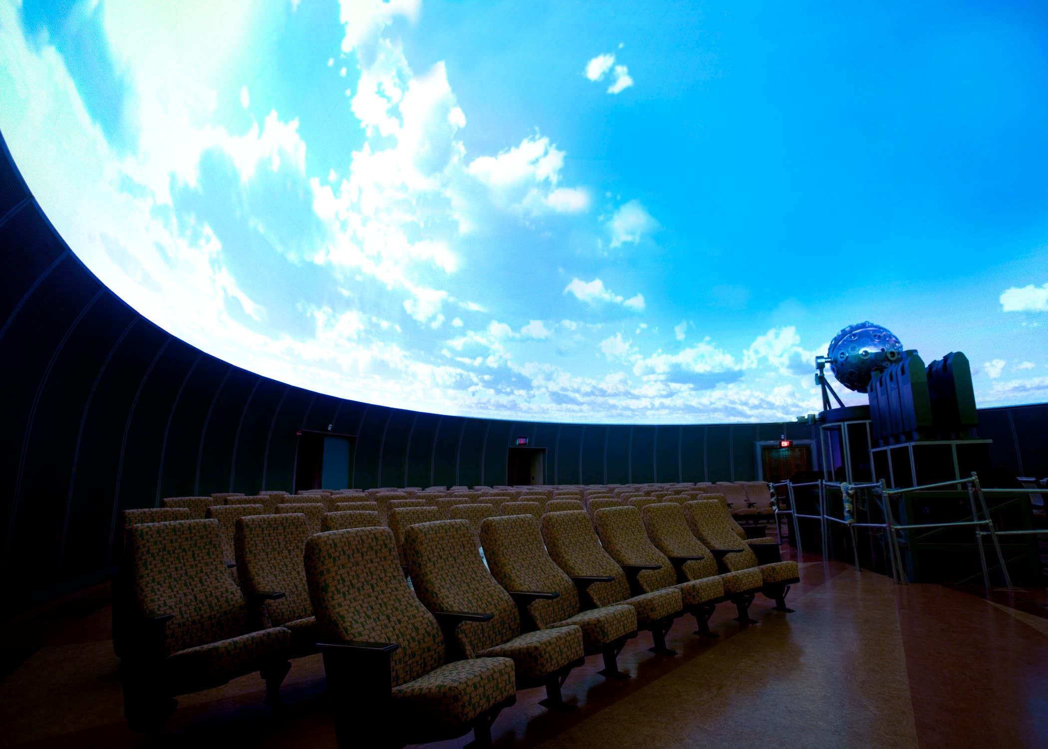 Samuel Oschin Planetarium at the Griffith Observatory