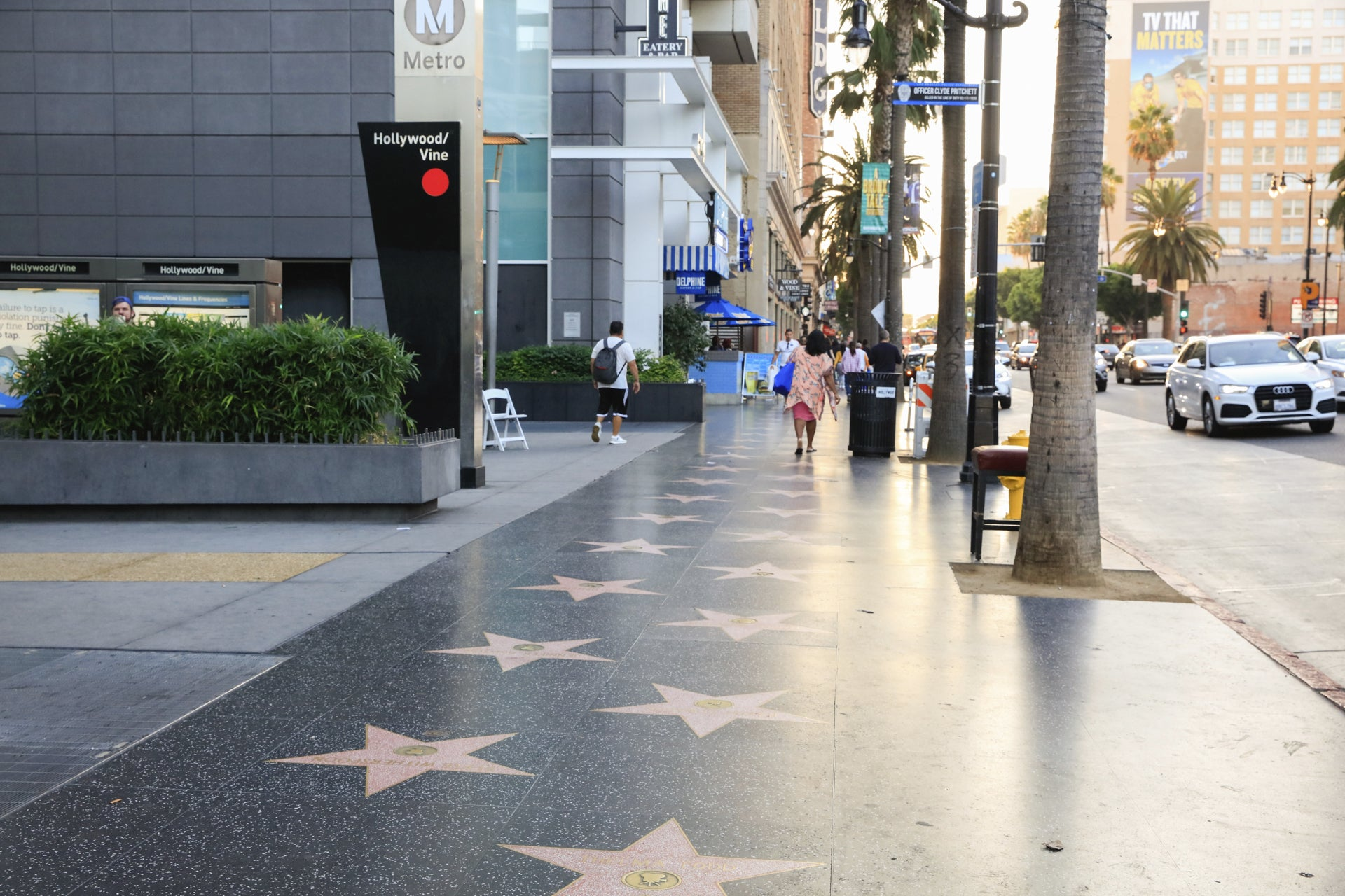 Hollywood Walk of Fame at Metro Hollywood/Vine Station