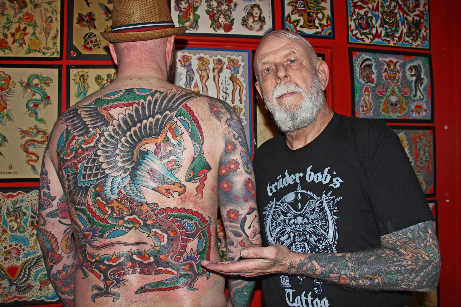 Bob Roberts Tattoo Battle Royale