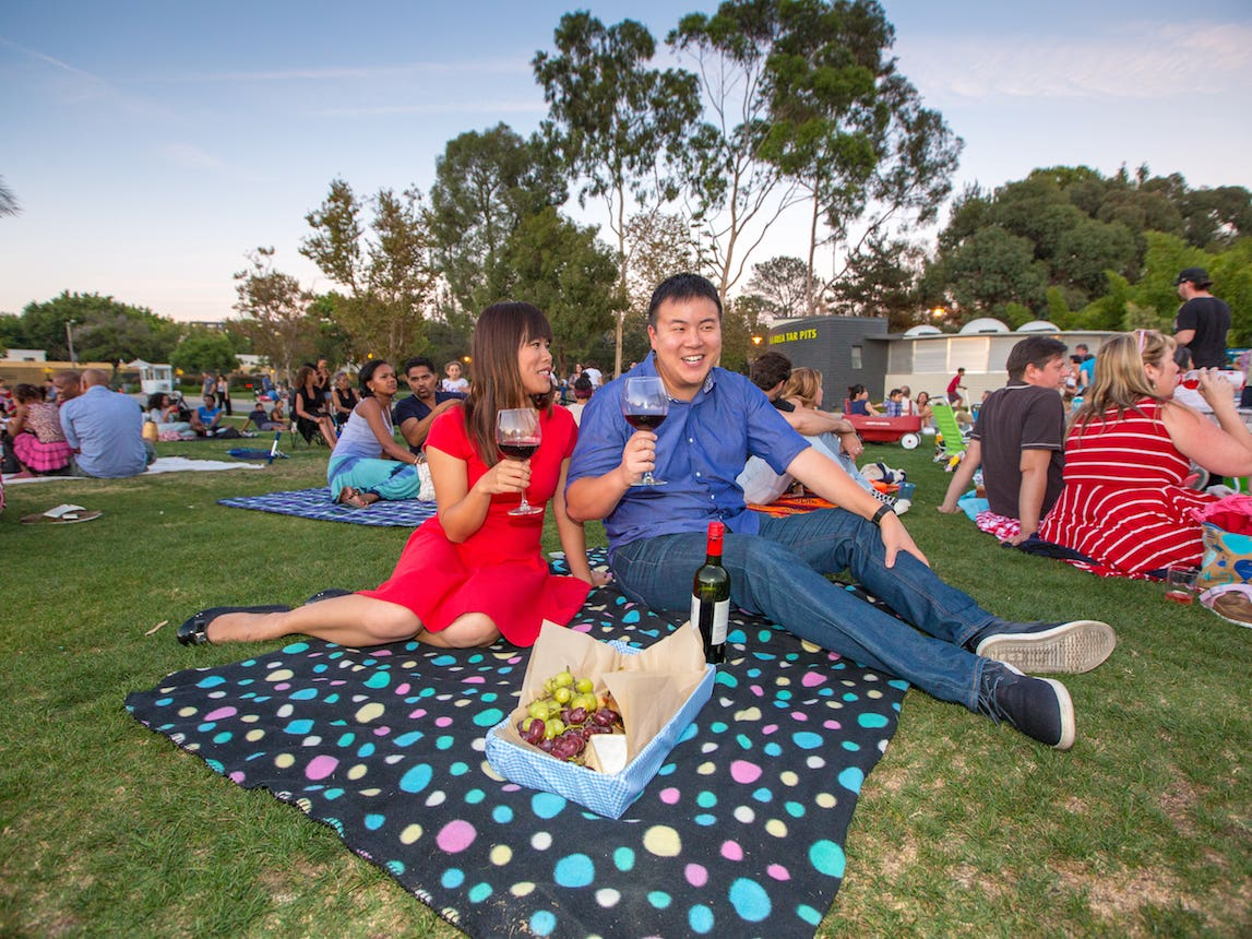 Picnic at LACMA Jazz Night