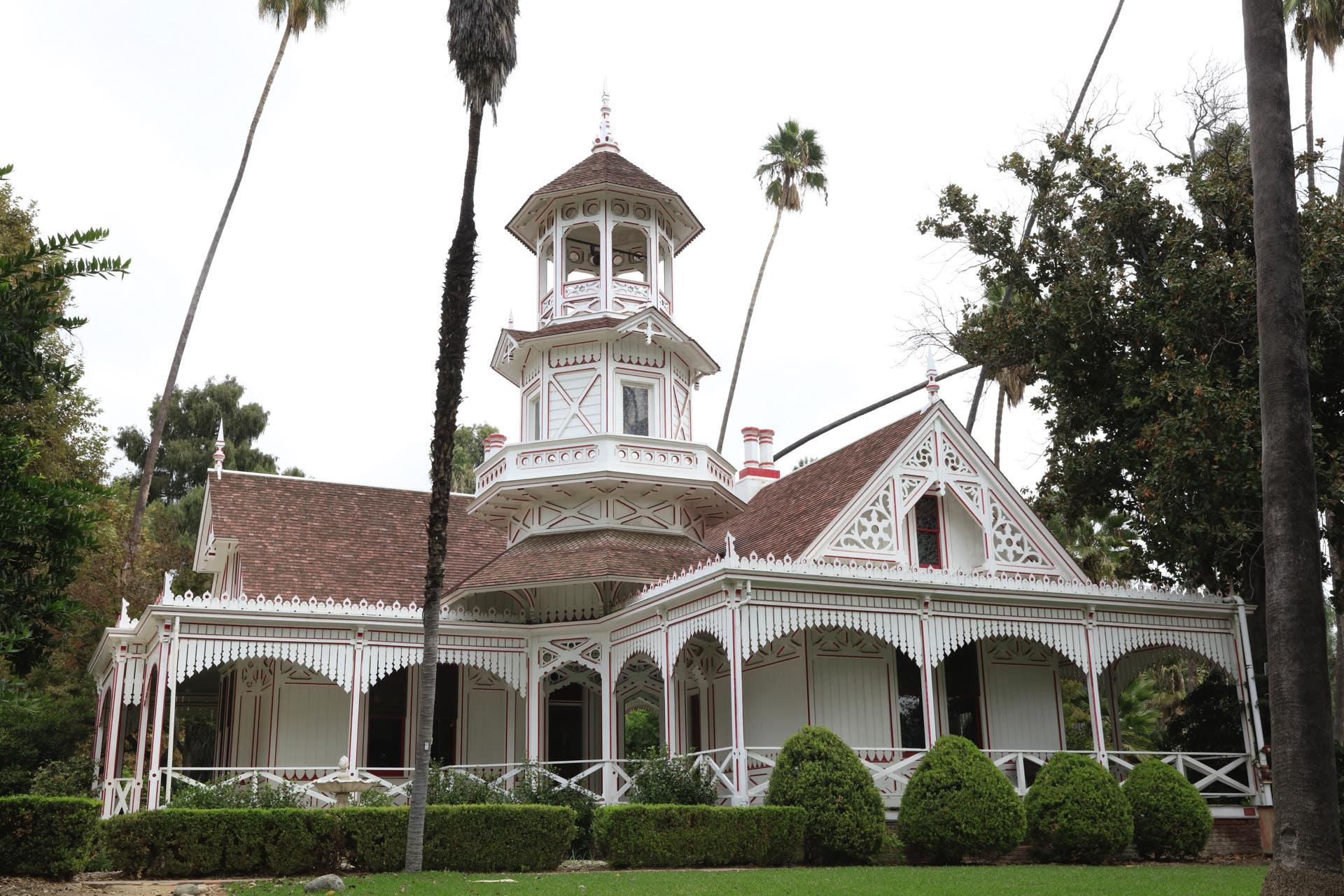 Queen Anne's Cottage at LA County Arboretum
