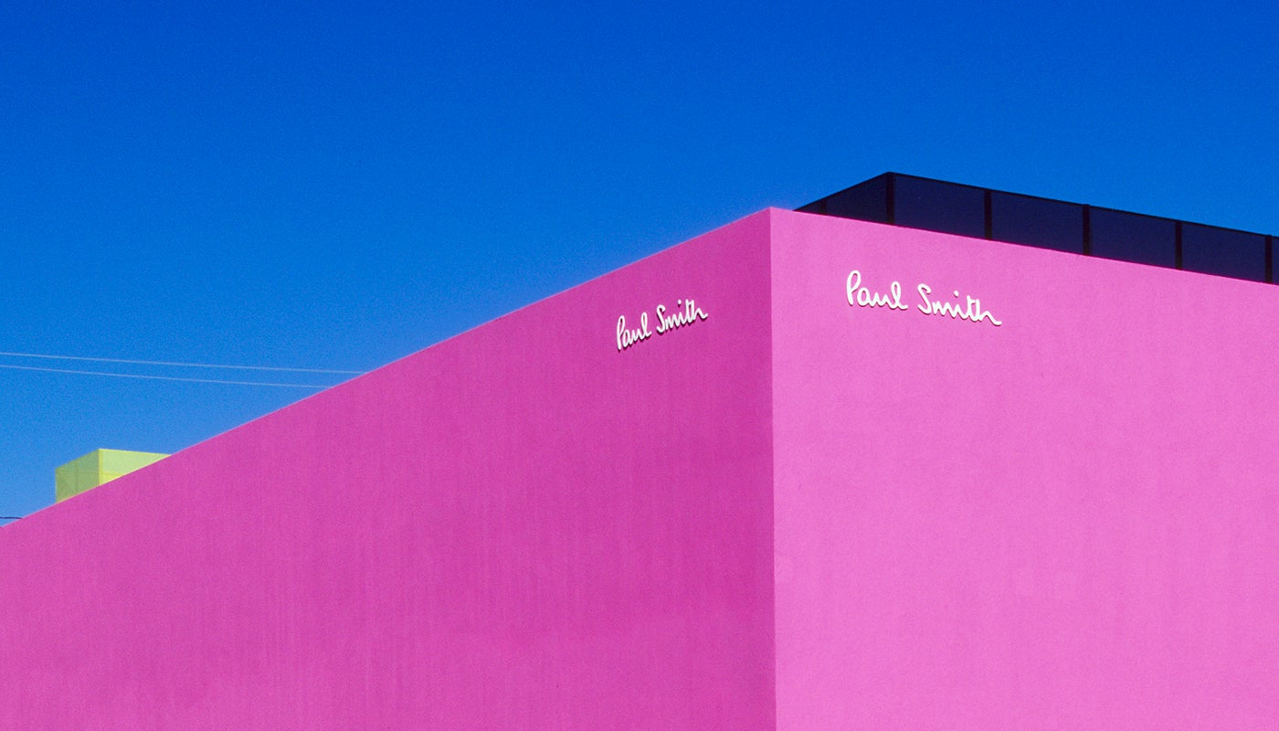 Paul Smith Pink Wall Melrose