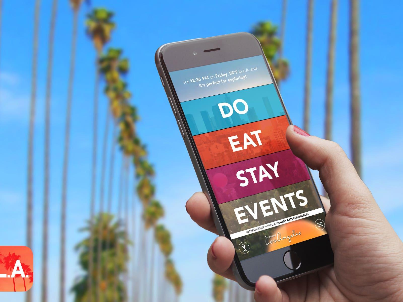Discover L.A. App