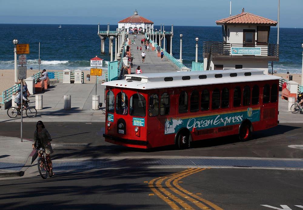 Ocean Express Trolley