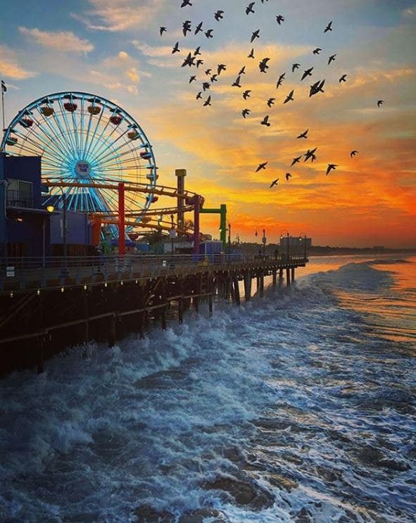 Pacific Park at Santa Monica Pier | Instagram by @pacpark