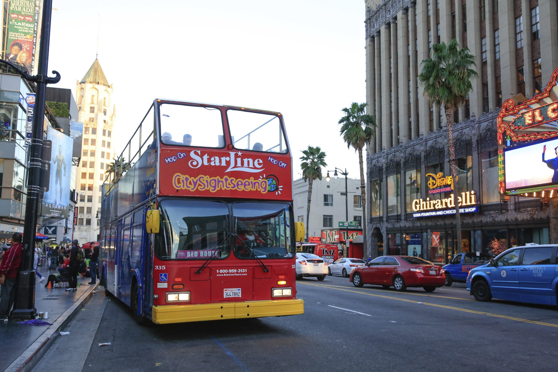 StarLine Bus Tours Hollywood