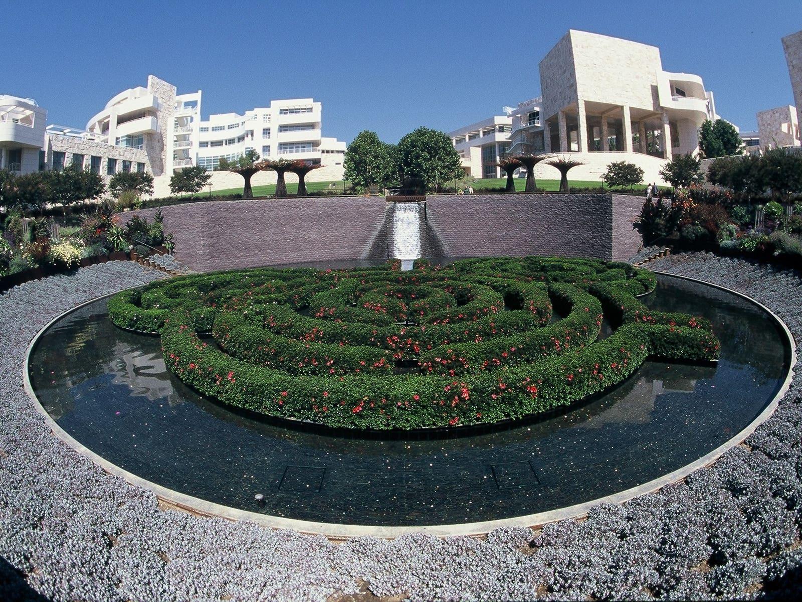 Central Garden au Getty Center