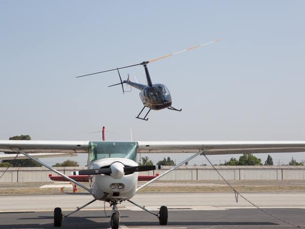 Tomorrows Aeronautical Museum helicopter