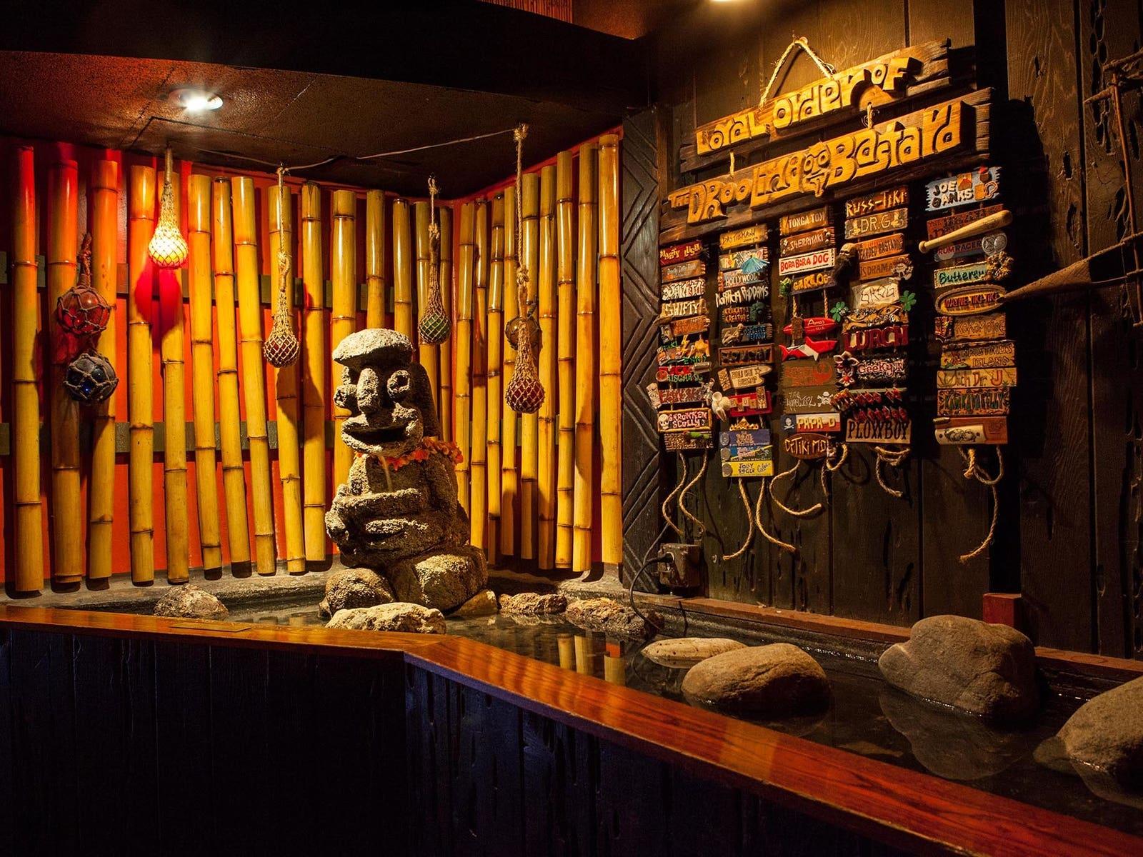 """""""The Loyal Order of the Drooling Bastard"""" at Tonga Hut Tiki Lounge"""