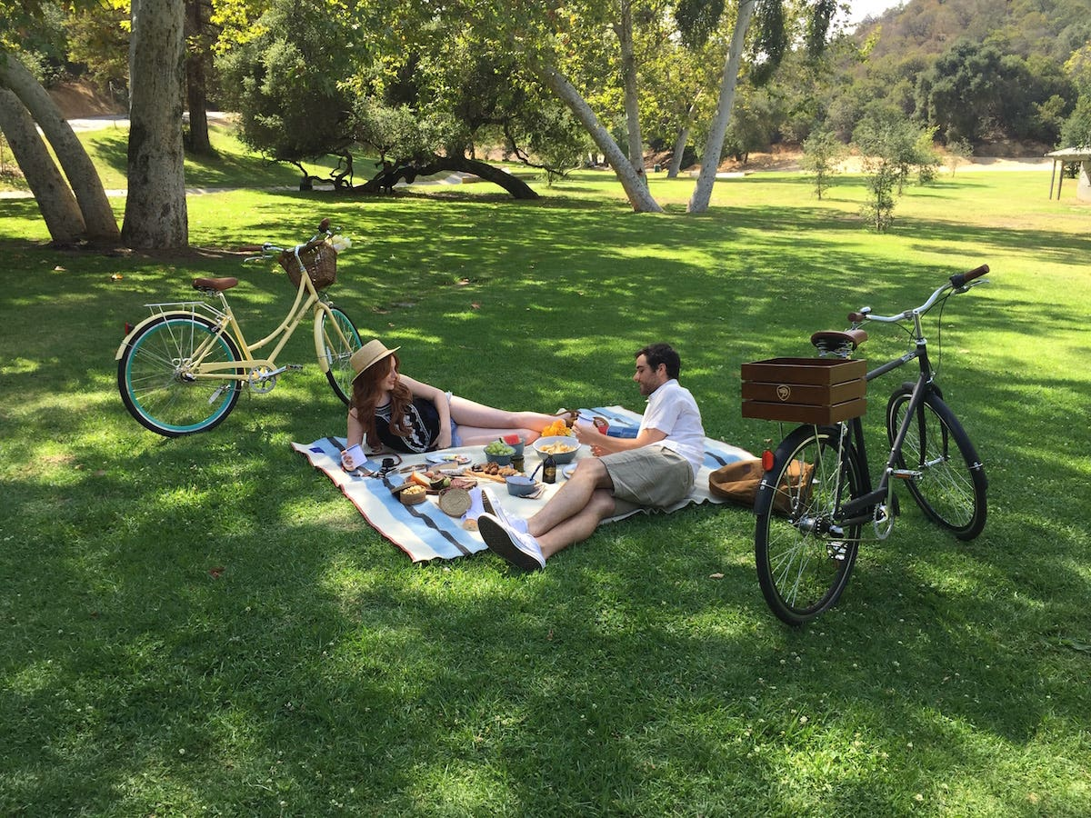 Picnic near Crystal Springs Drive in Griffith Park   |  Photo:  Tuan Lee