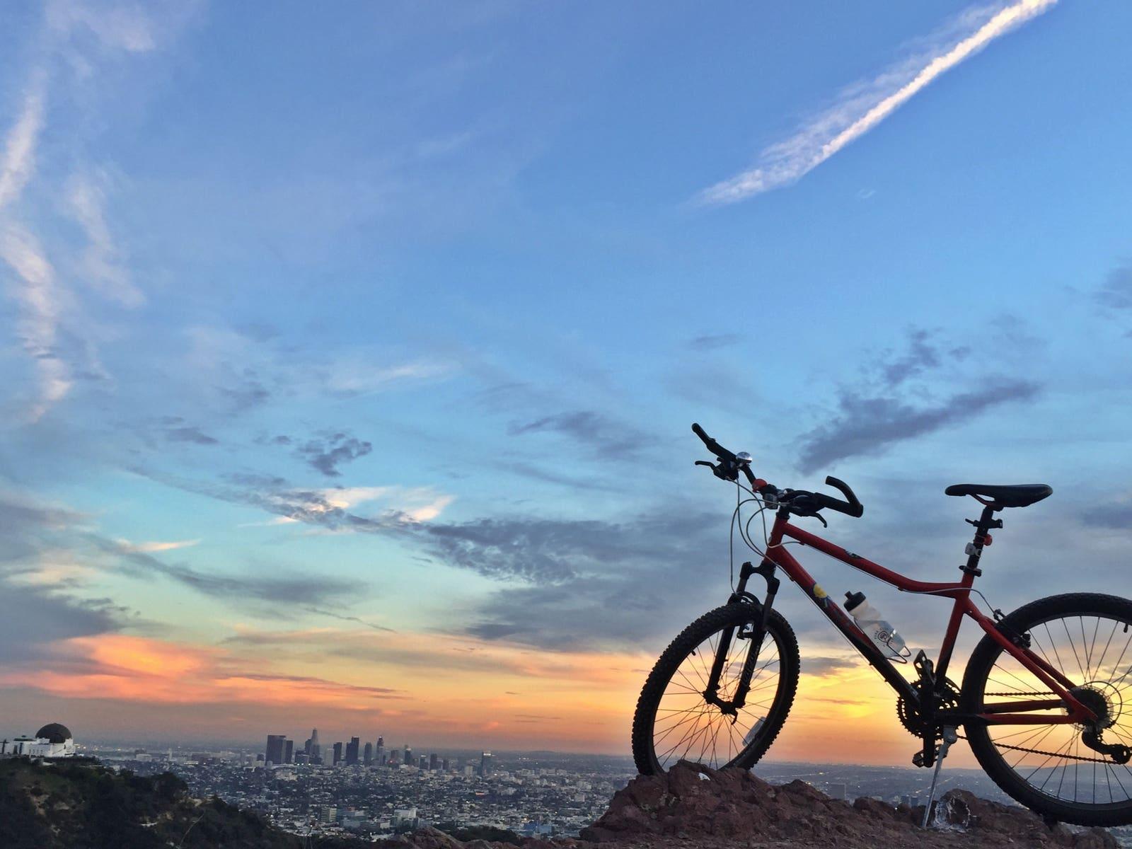 Griffith Park at sunset   |  Photo: Joshua Johnson