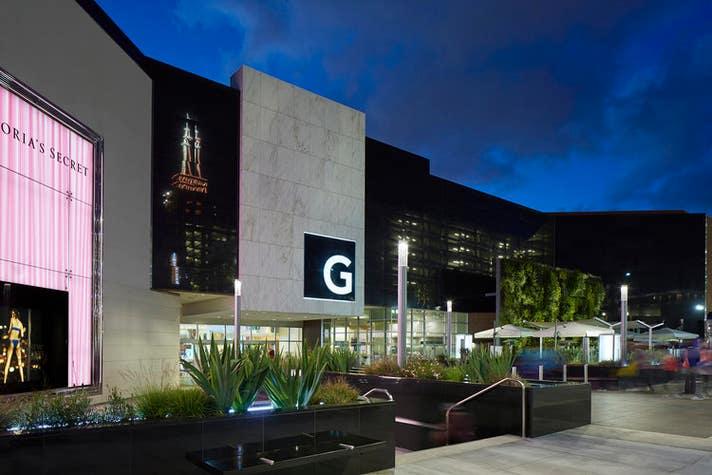 outside Glendale Galleria