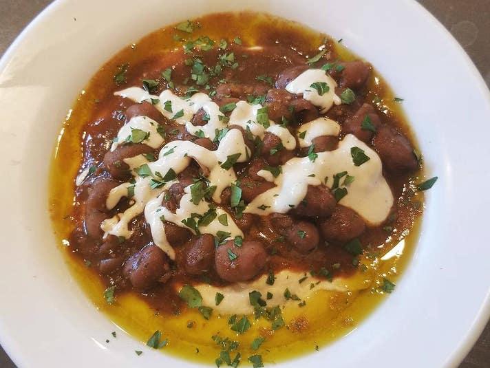 Hummus Mach'lutta at Hummus Yummy