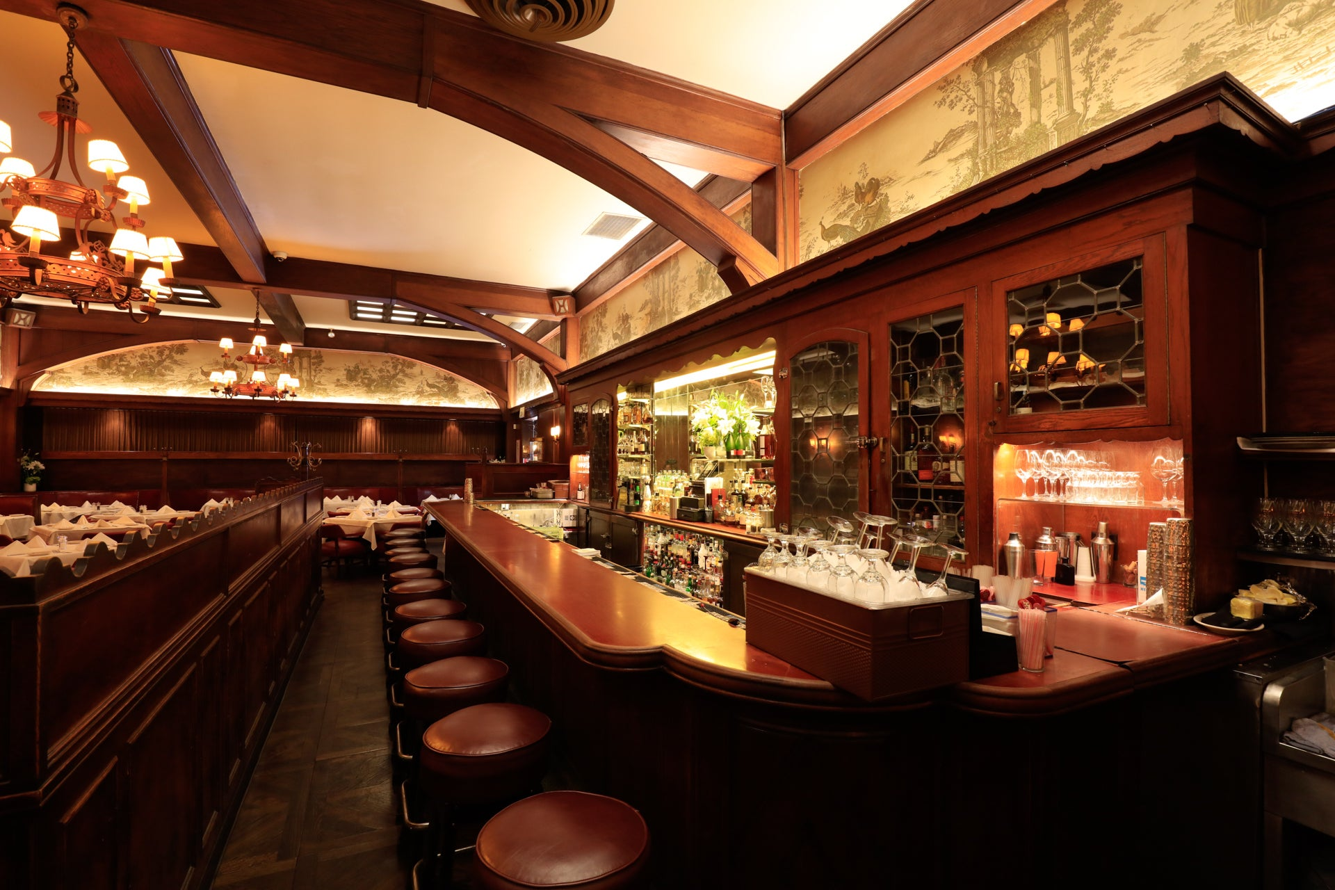 Bar at Musso & Frank Grill