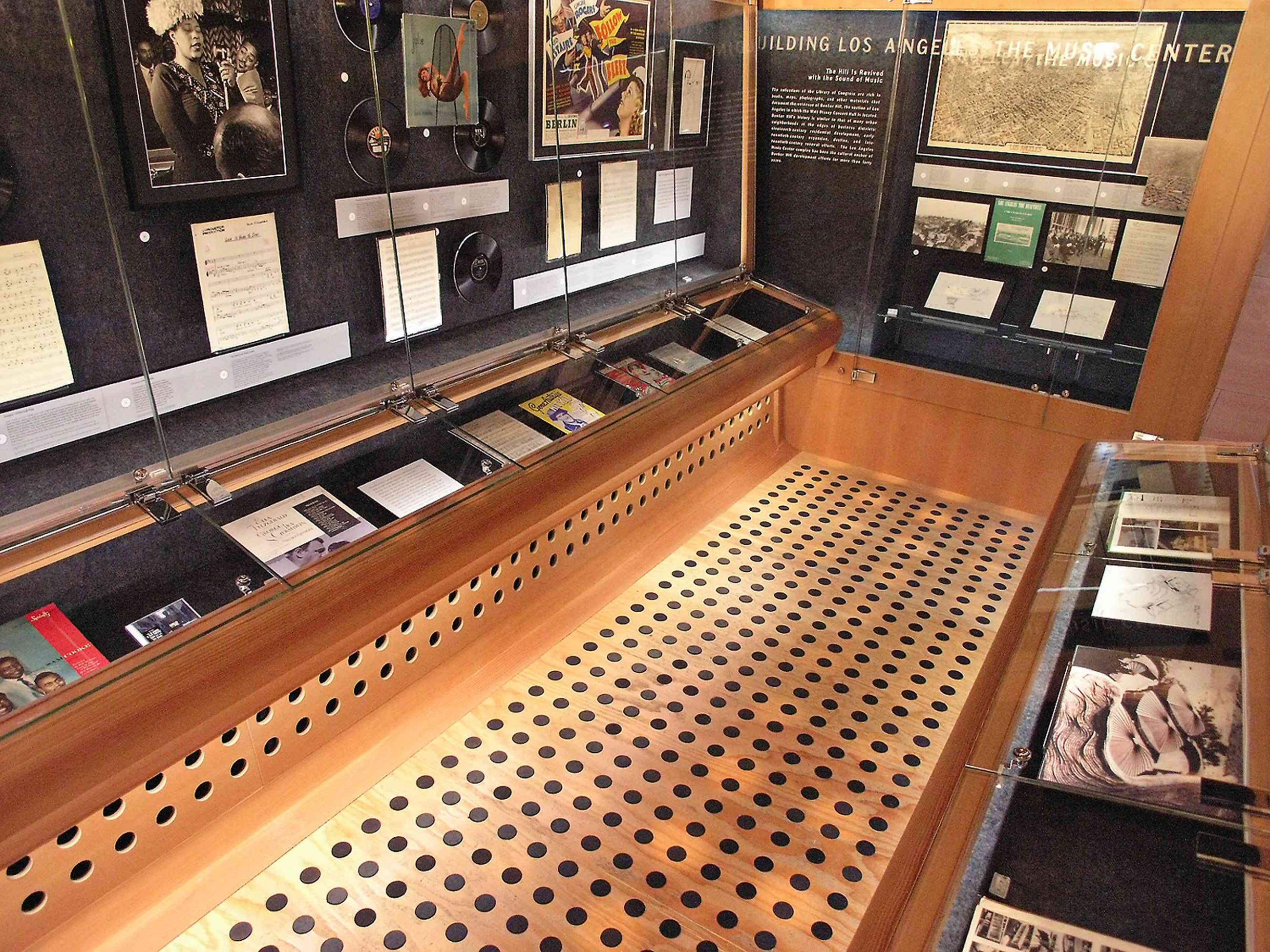 The Library of Congress/Ira Gershwin Gallery, Walt Disney Concert Hall | Photo: H+F