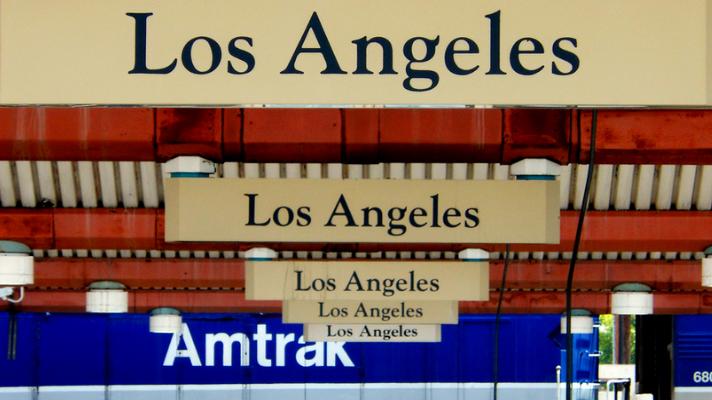 Trenes de Amtrak a Los Ángeles