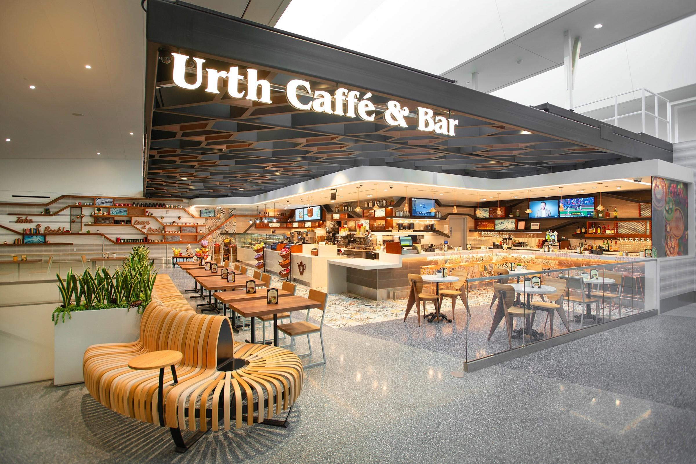 Urth Caffé & Bar LAX | Photo: Urth Caffé