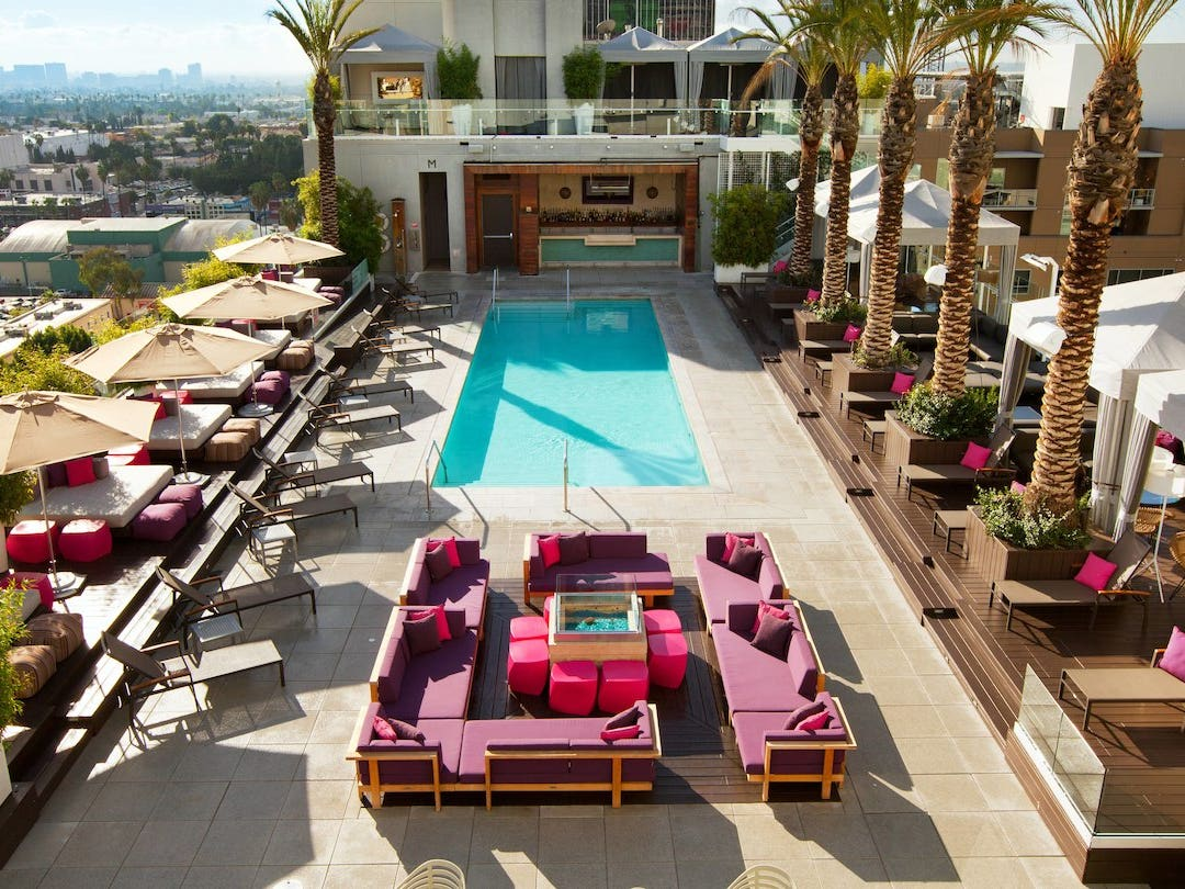 Wet Deck at the W Hollywood