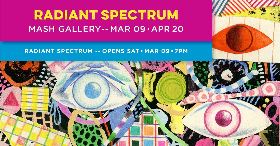 Radiant Spectrum Art Exhibition Curated by Mark Murphy