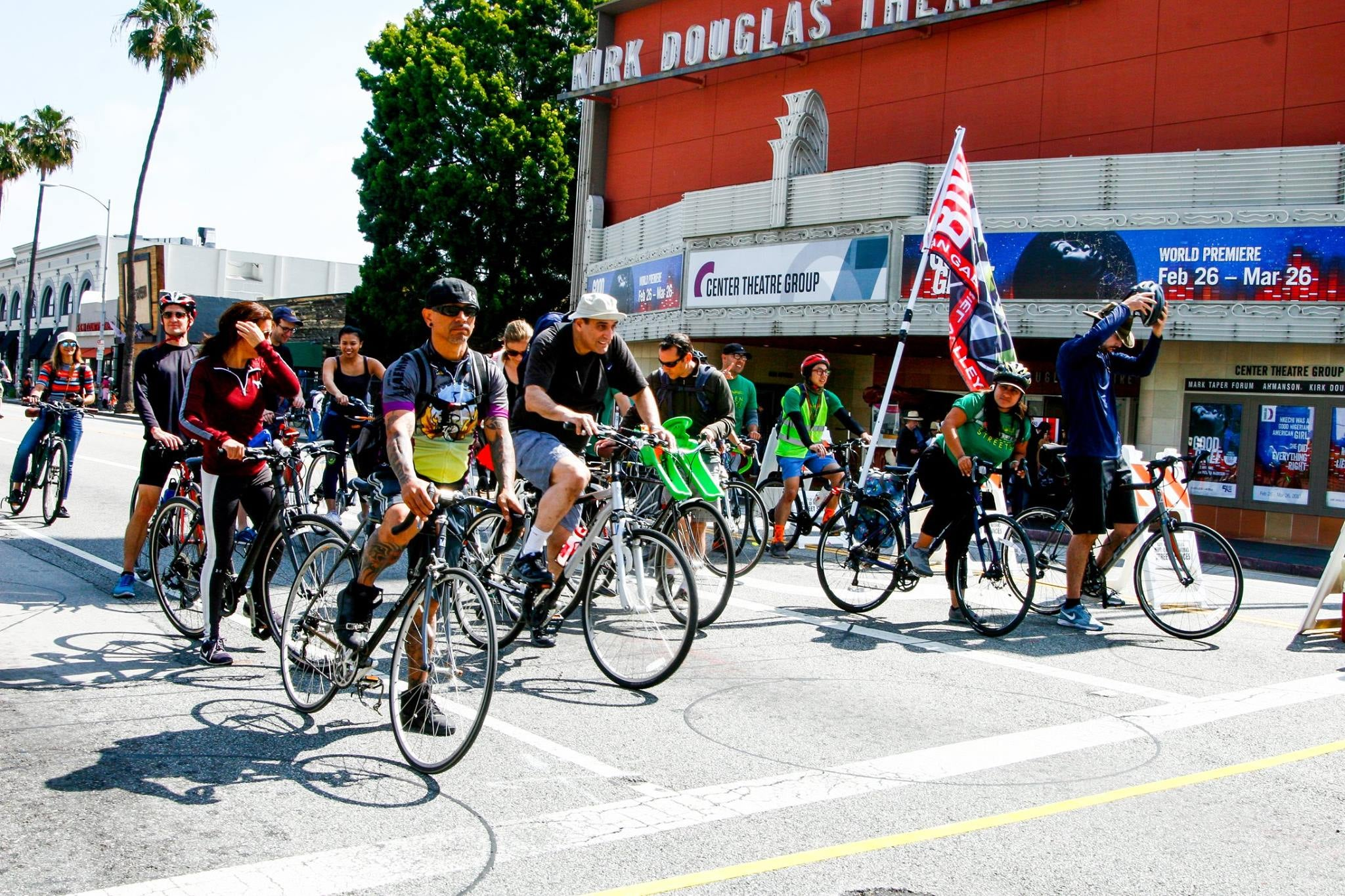 CicLAvia at the Kirk Douglas Theatre in Culver City