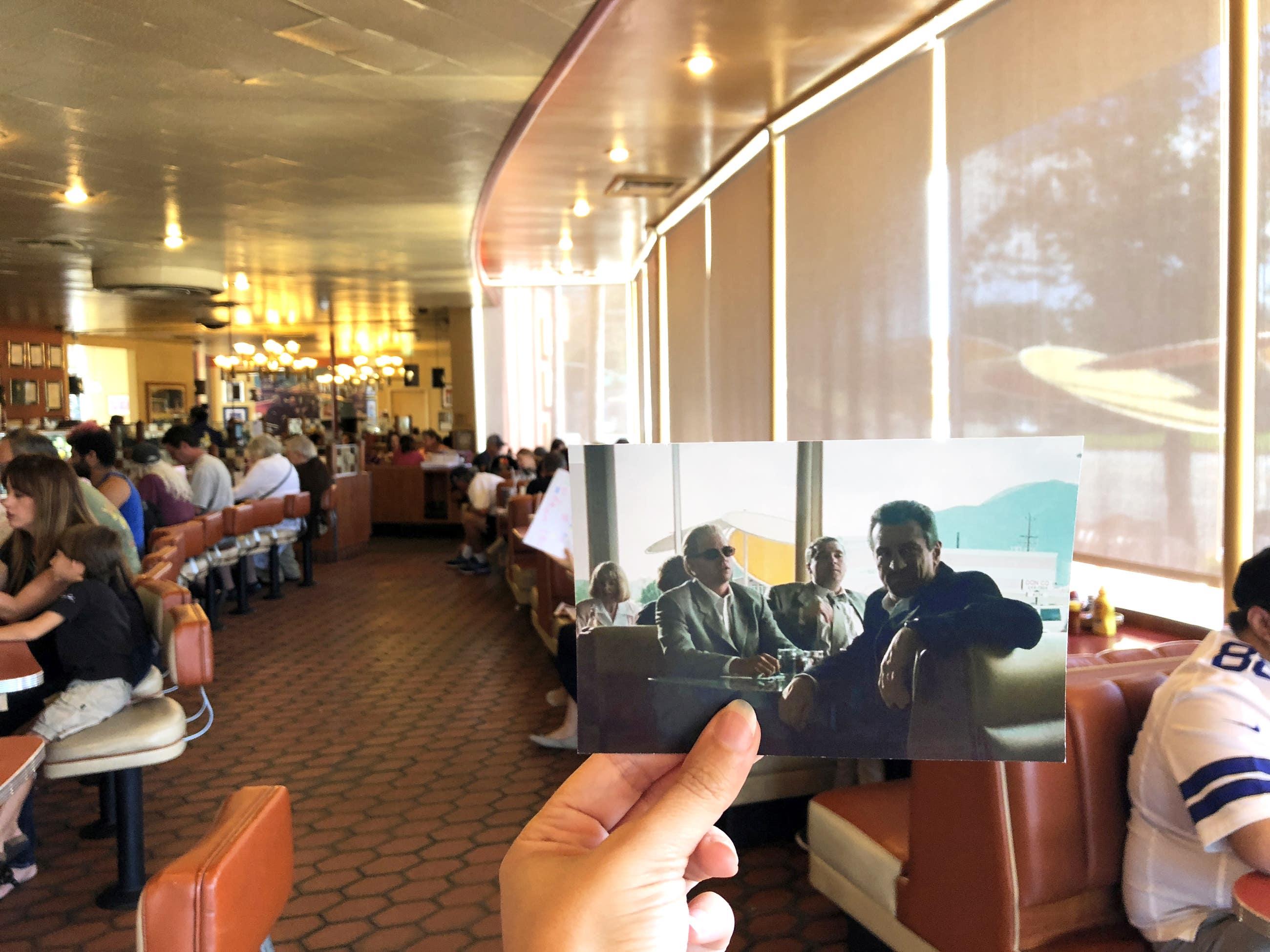 "Scene from ""Heat"" at Bob's Big Boy in Burbank"