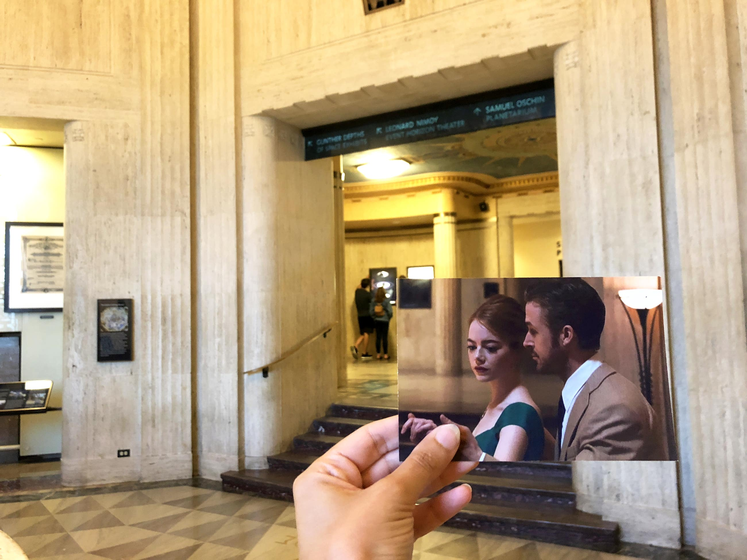 Scene fromLa La Land at the Griffith Observatory