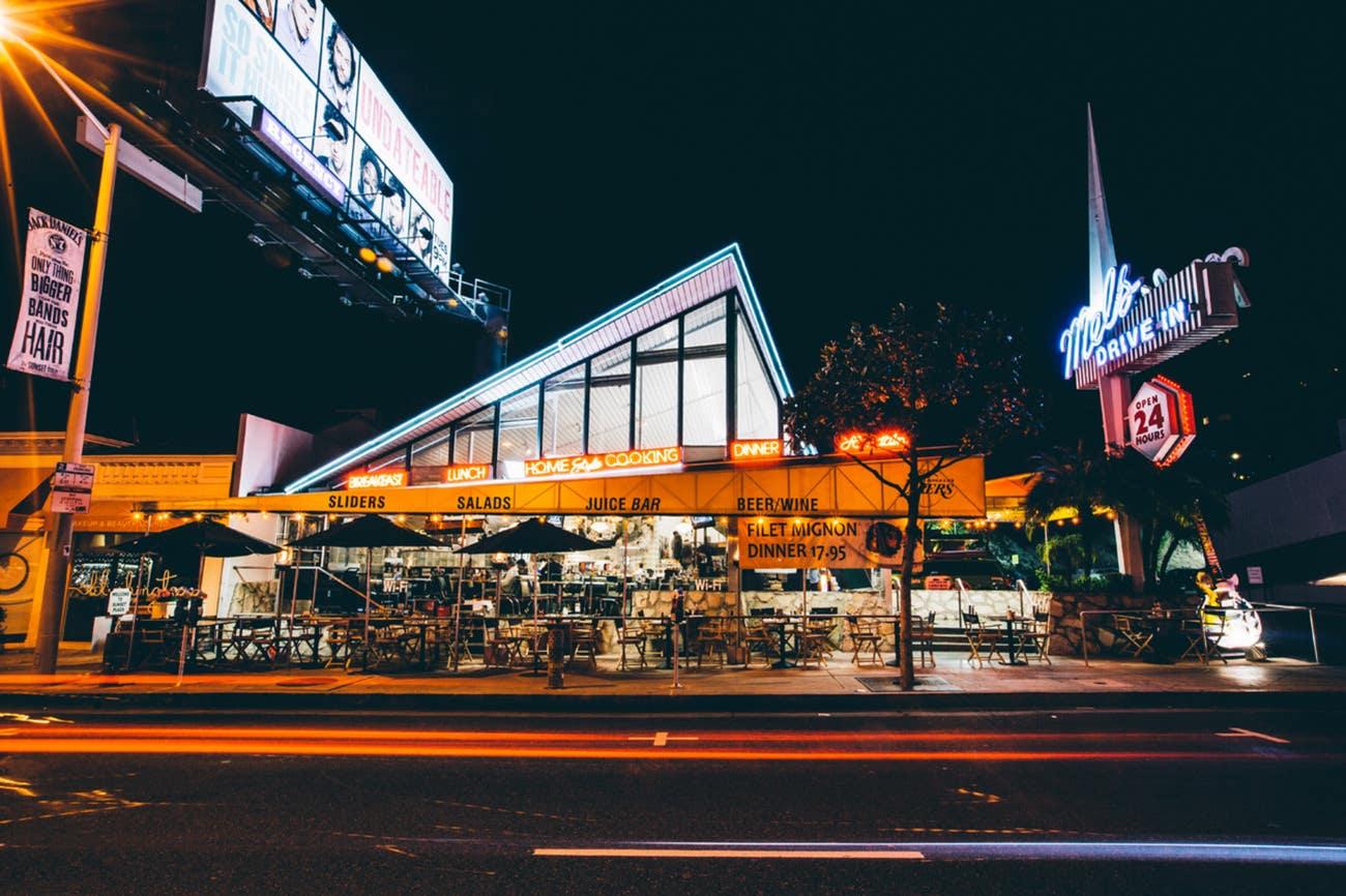 Mel's Drive-In Sunset Blvd