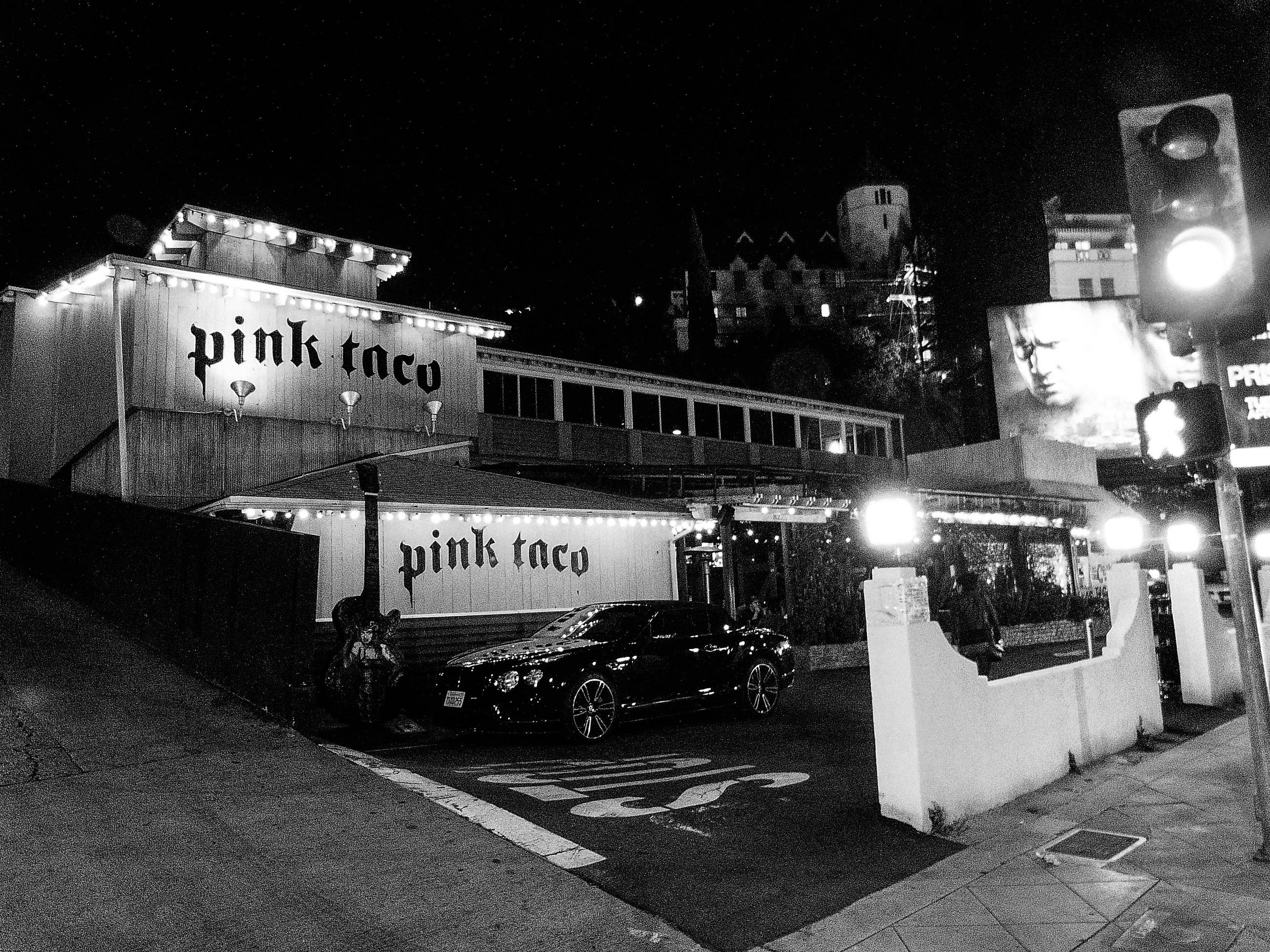 Pink Taco on the Sunset Strip