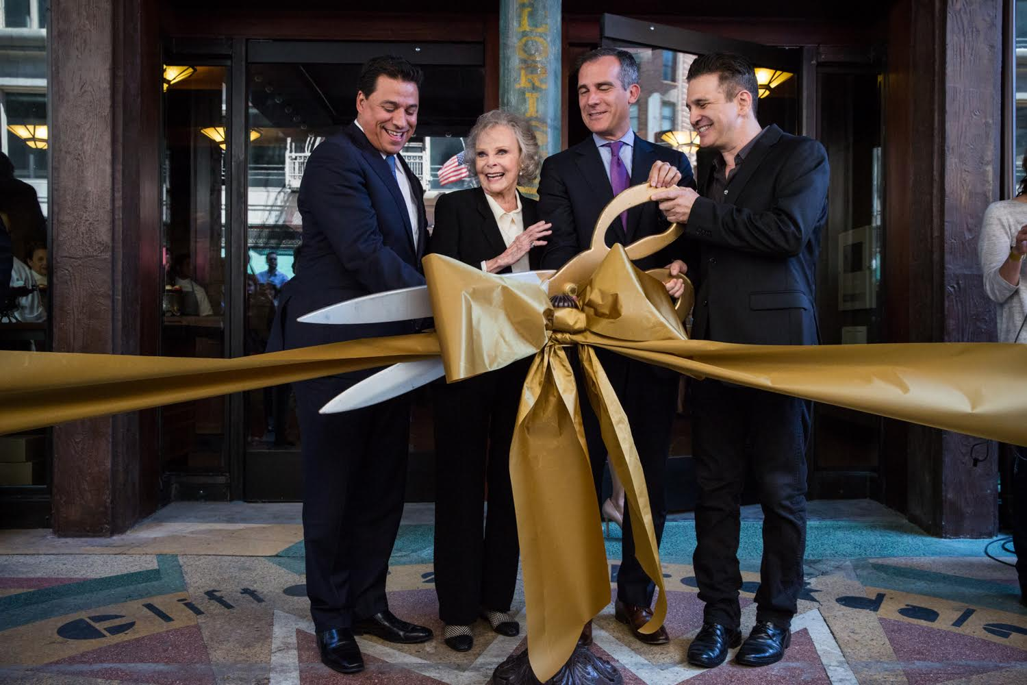 Clifton's Cafeteria Ribbon Cutting