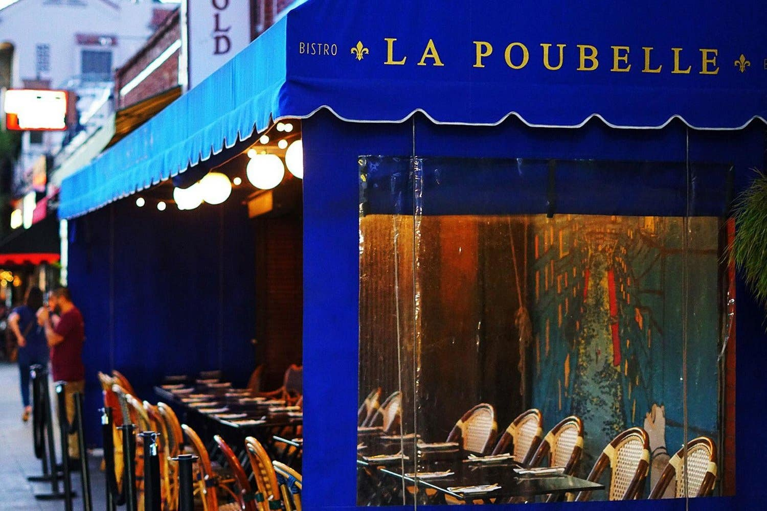 La Poubelle patio