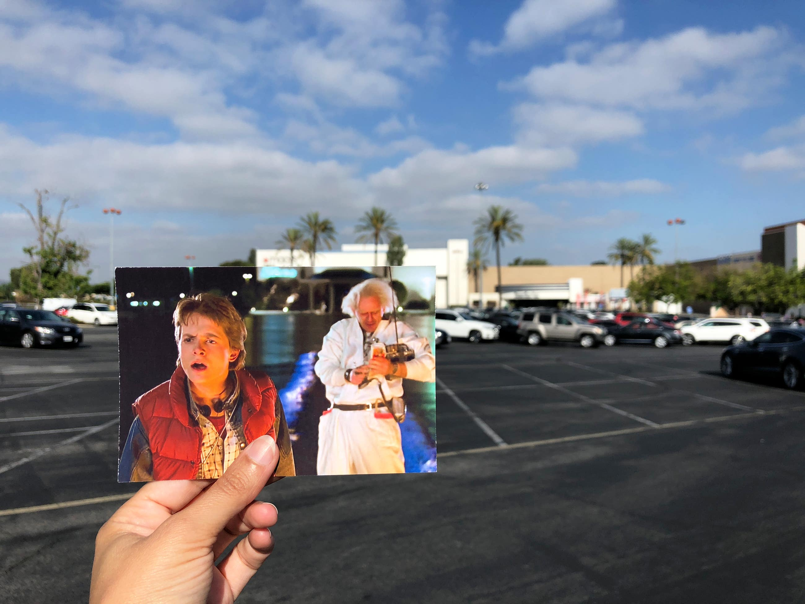Back to the Future Puente Hills Mall